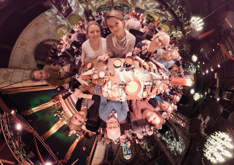 Pflege Engel Weihnachtsfeier 2018